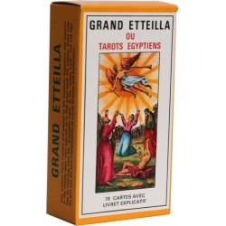 GRAND ETTEILA - TAROTS EGYPTIENS - JEU DE 78 CARTES