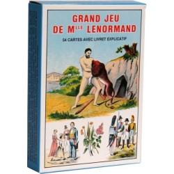 GRAND JEU DE MLLE LENORMAND - 54 CARTES