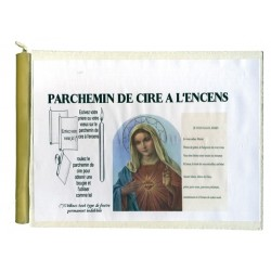 JE VOUS SALUE MARIE - PARCHEMIN DE CIRE A L'ENCENS