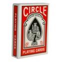 CIRCLE POKER - JEU DE 54 CARTES DOS BLEU OU ROUGE