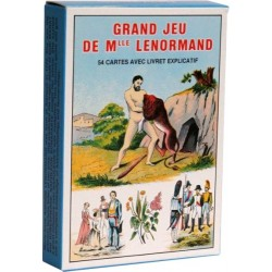 GRAND JEU DE MLLE LENORMAND - 54 CARTES