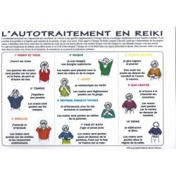 AUTOTRAITEMENT EN REIKI - DIX EXERCICES - A4