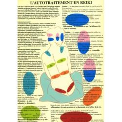 AUTOTRAITEMENT EN REIKI - 14 POSITIONS - A4