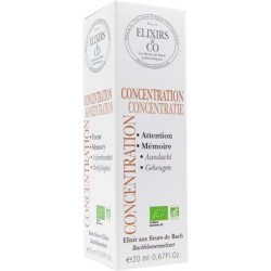 CONCENTRATION - ELIXIR FLORAUX - 20 ML