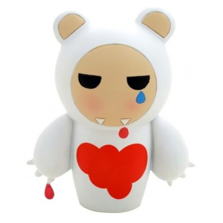 MOMIJI THE I DONT CARE BEAR POUPEE JAPONAISE KOKESHI