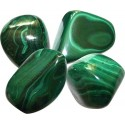 MALACHITE - LOT DE 50 G PIERRES ROULEES